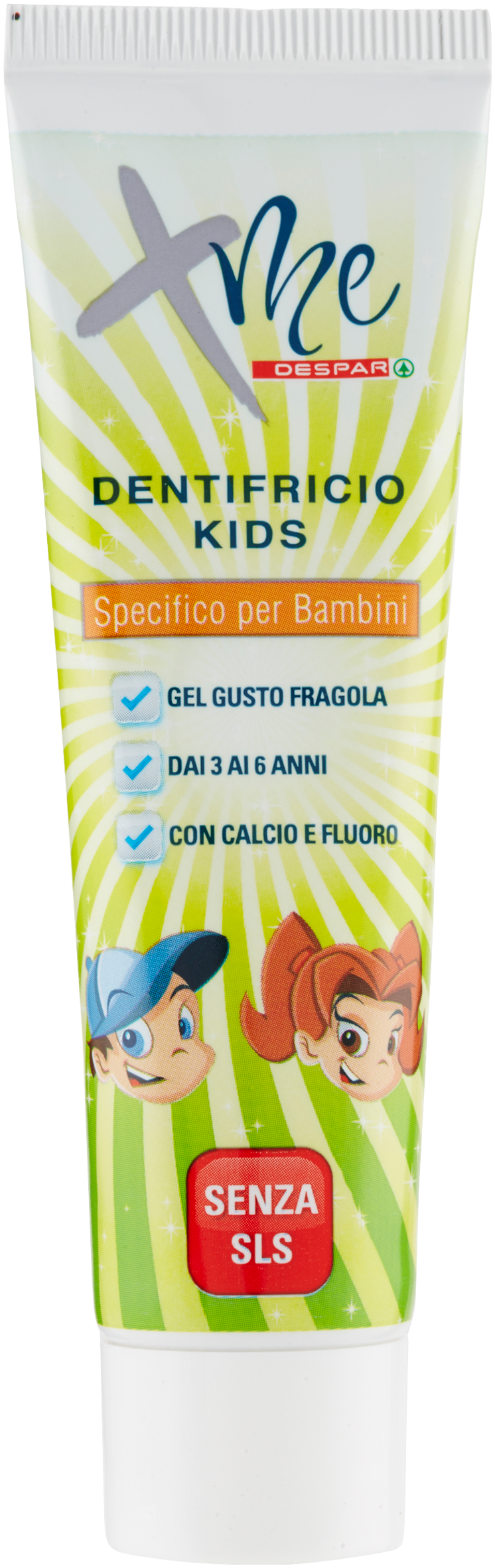 DENTIFRICIO XME DESPAR 50ML KIDS