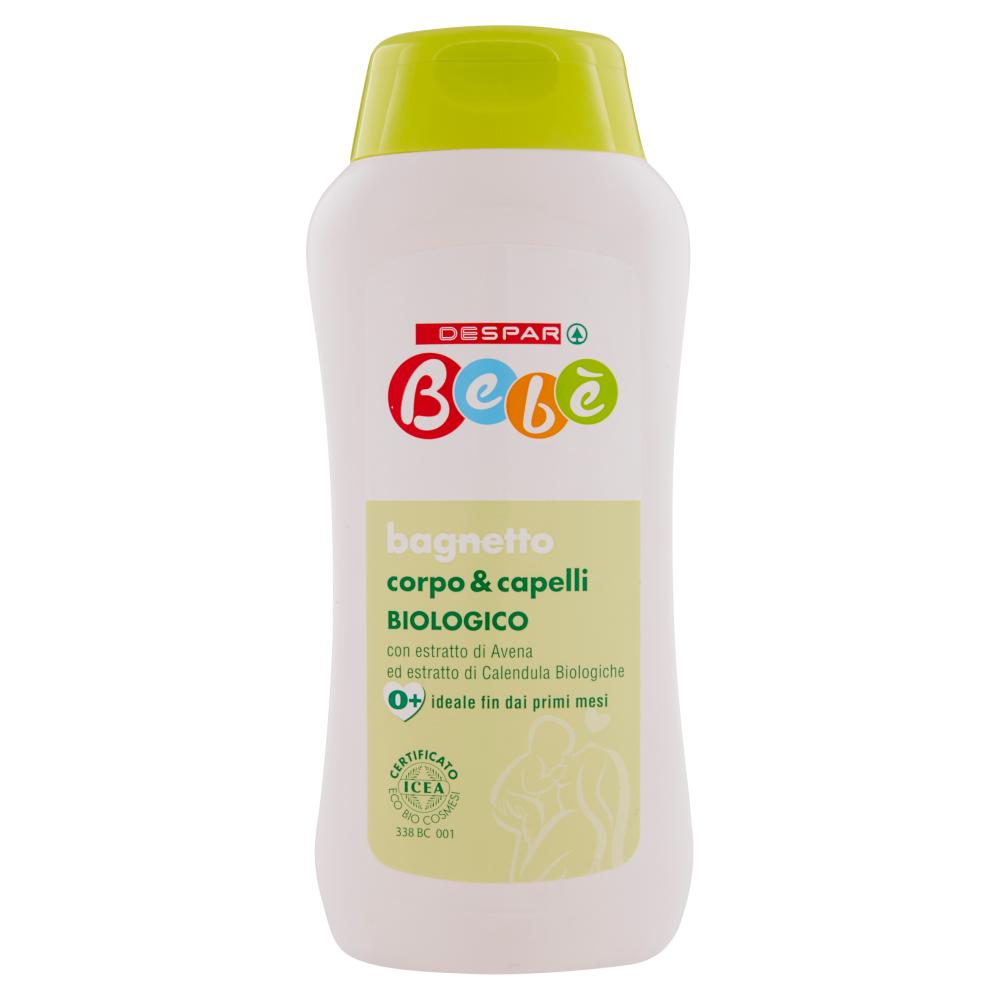 Despar Bebè bagnetto corpo & capelli Biologico 250 ml