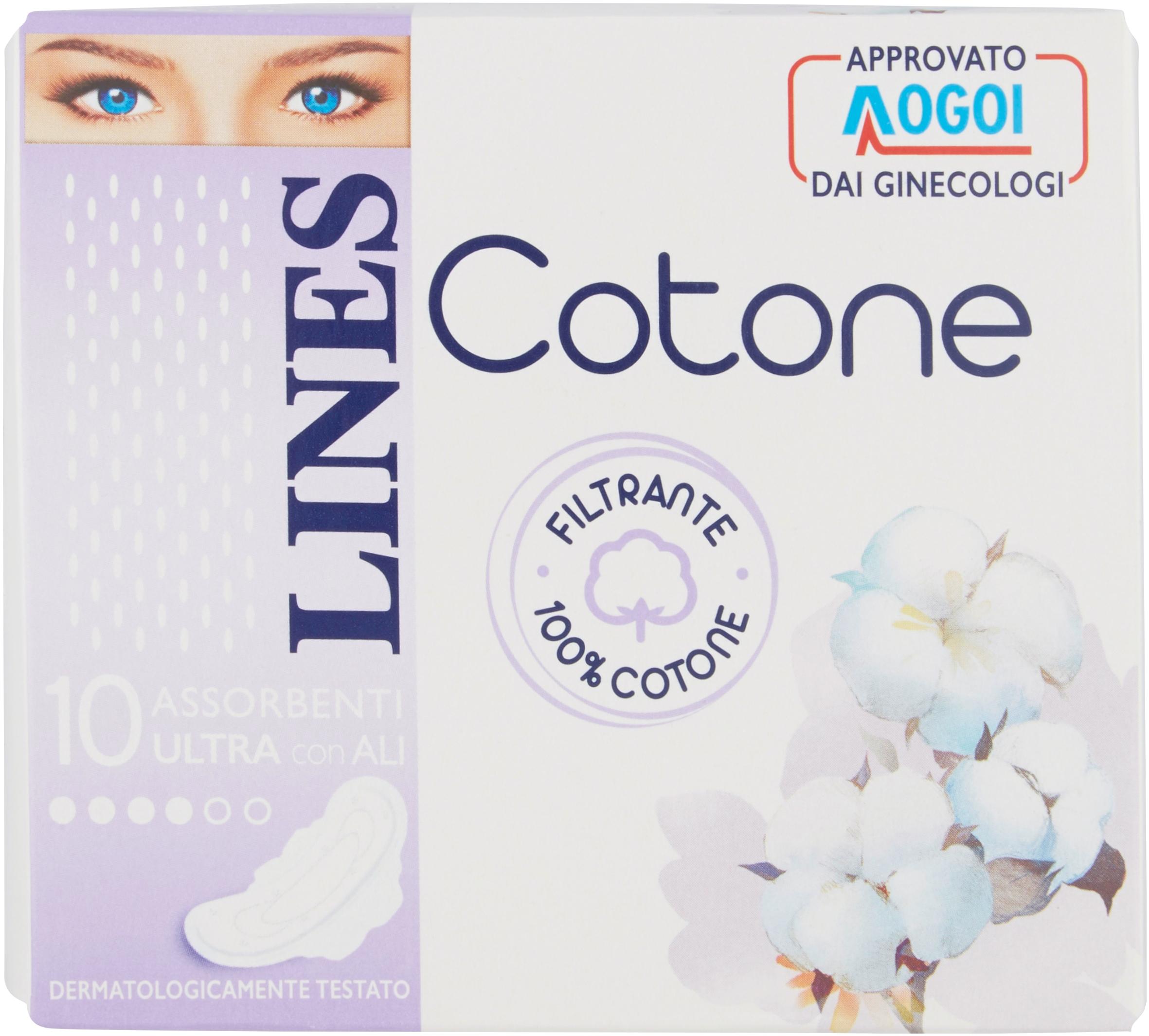 ASS.COTONE LINES X10 ULTRA ALI
