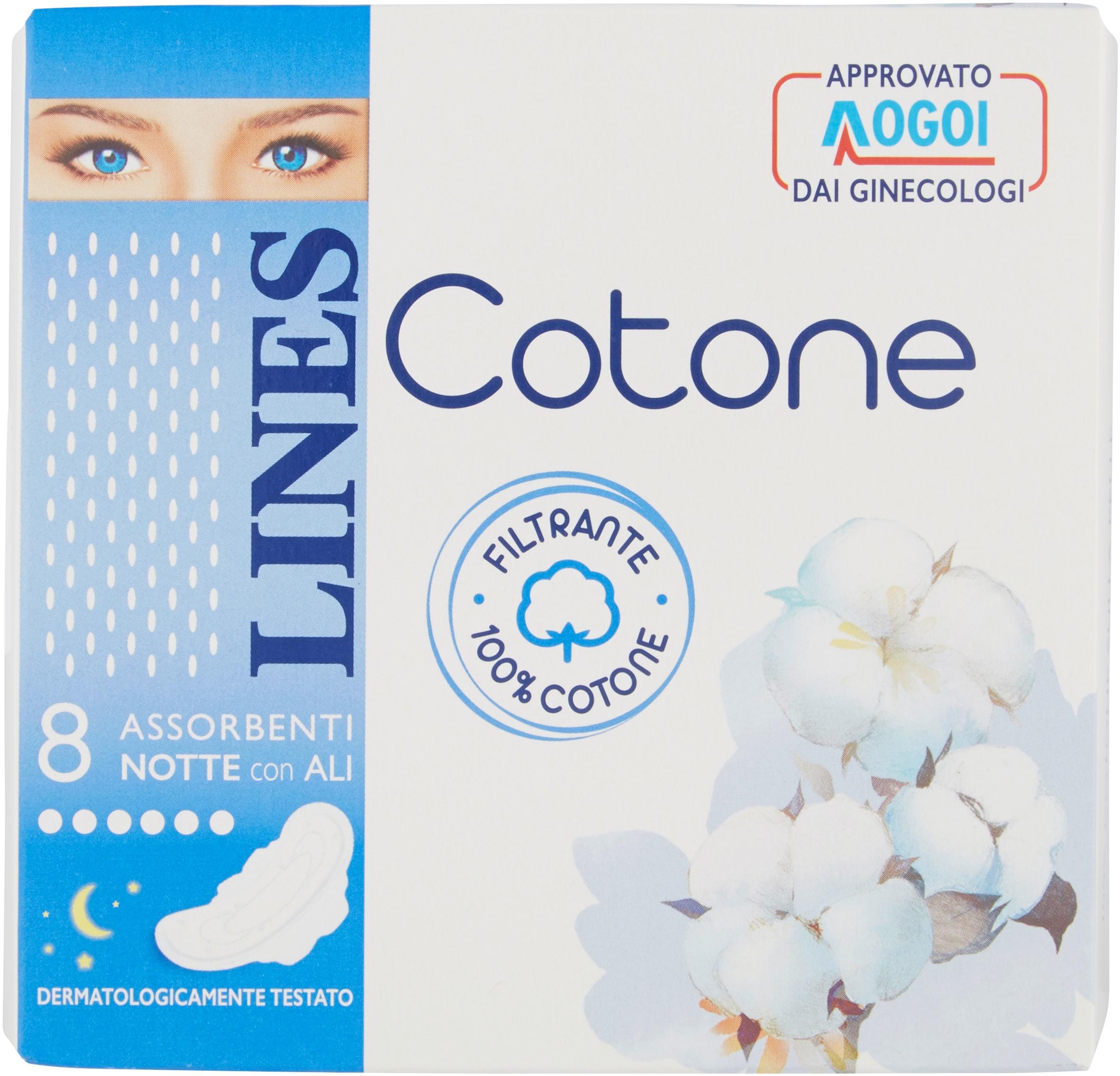 ASS.COTONE LINES X8 NOTTE