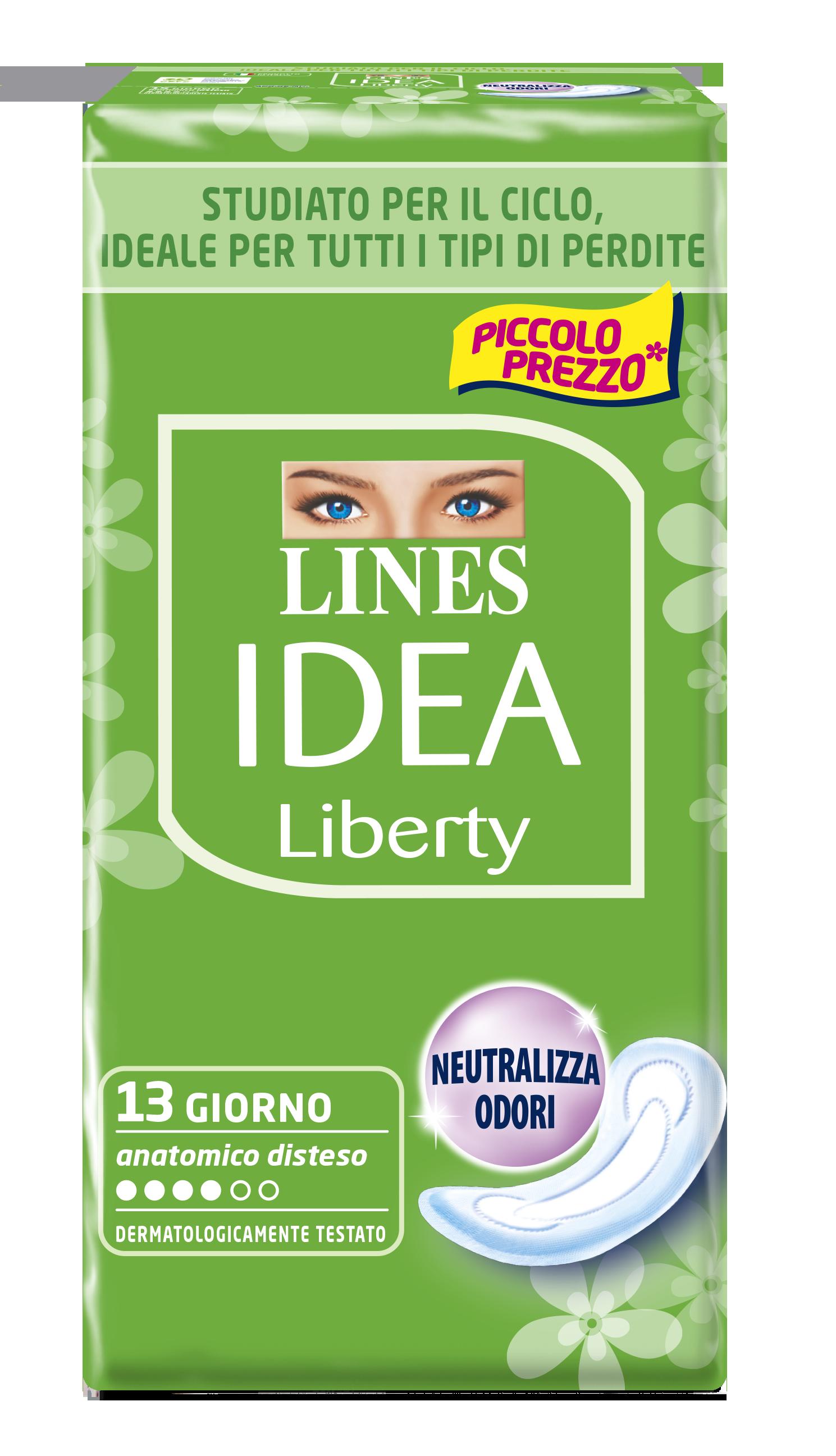 ASS.IDEA LIBERTY LINES X13 ANAT.