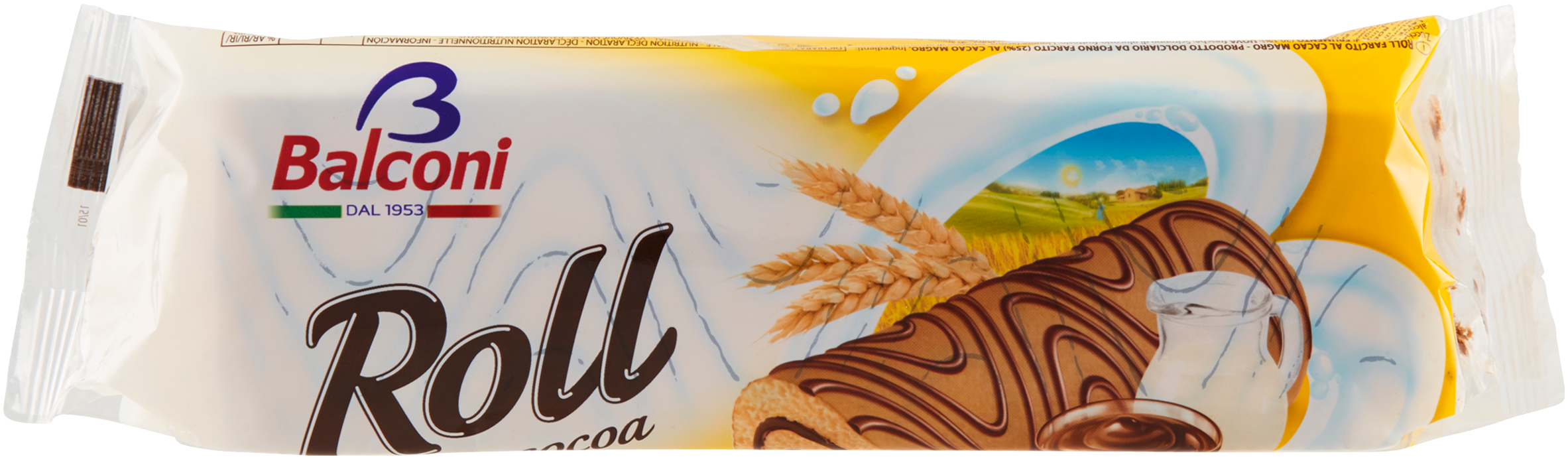 TRONCO ROLL BALCONI 250G CACAO