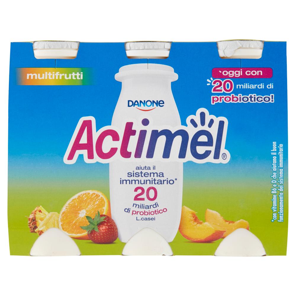ACTIMEL DANONE 100GX6 MULTIFRUTTA