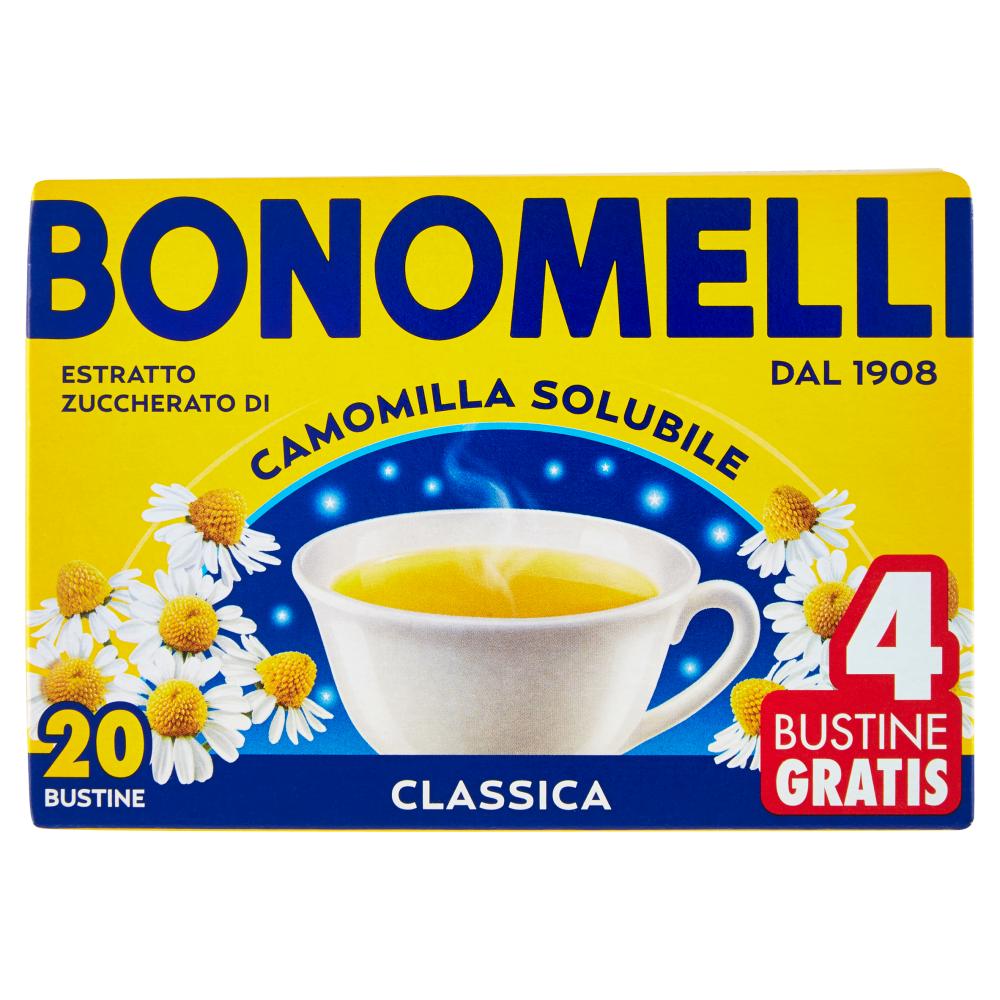 Bonomelli Estratto Zuccherato di Camomilla Solubile Classica 20 x 5 g