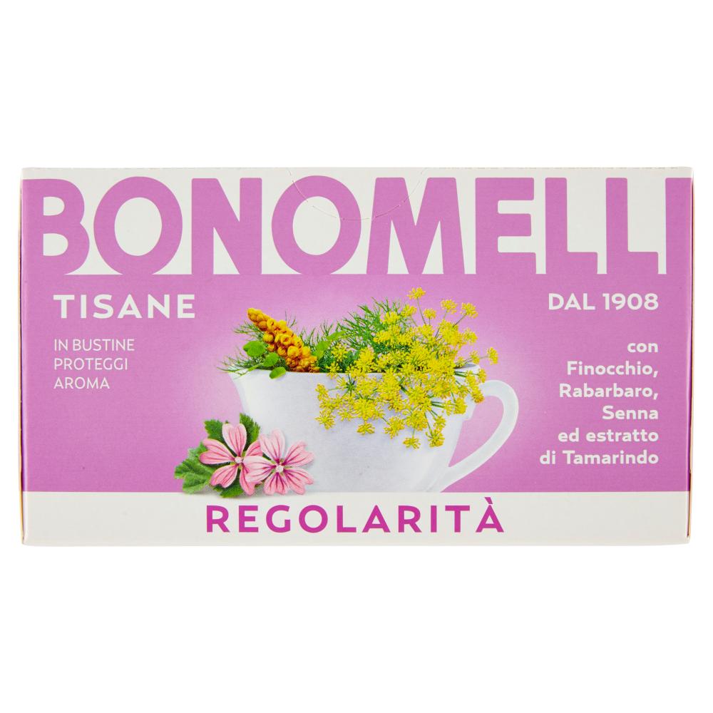 Bonomelli Tisane Regolarità 16 Filtri 32 g