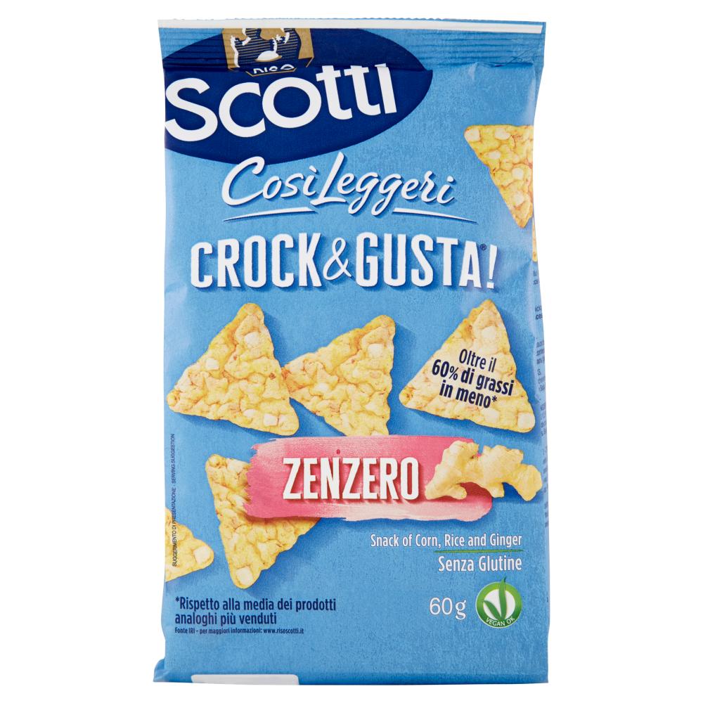 Riso Scotti Crock&Gusta! Zenzero 60 g