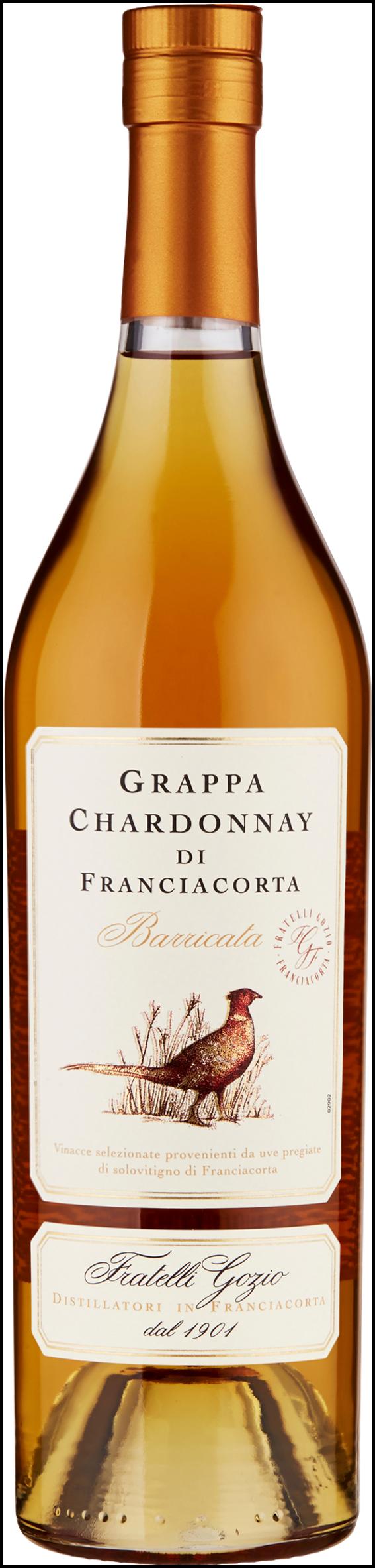 GRAPPA BARRIC FRANCIACOR 50CL CHARDONNAY