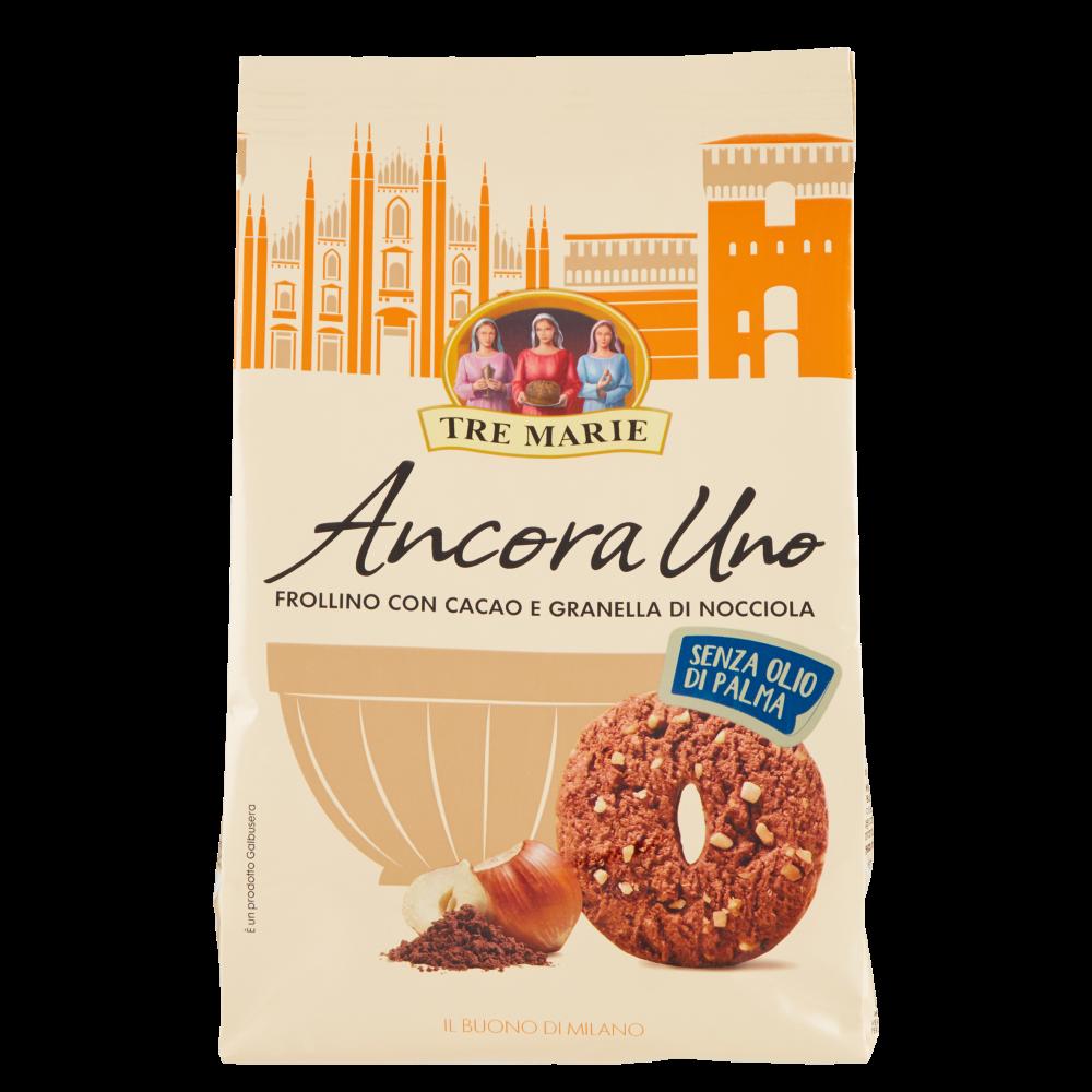 Tre Marie Ancora Uno Frolla al Cacao con Gocce di Cioccolato 300 g