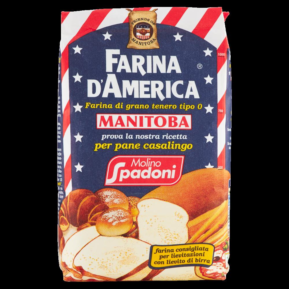 Molino Spadoni Farina d'America Manitoba 1000 g