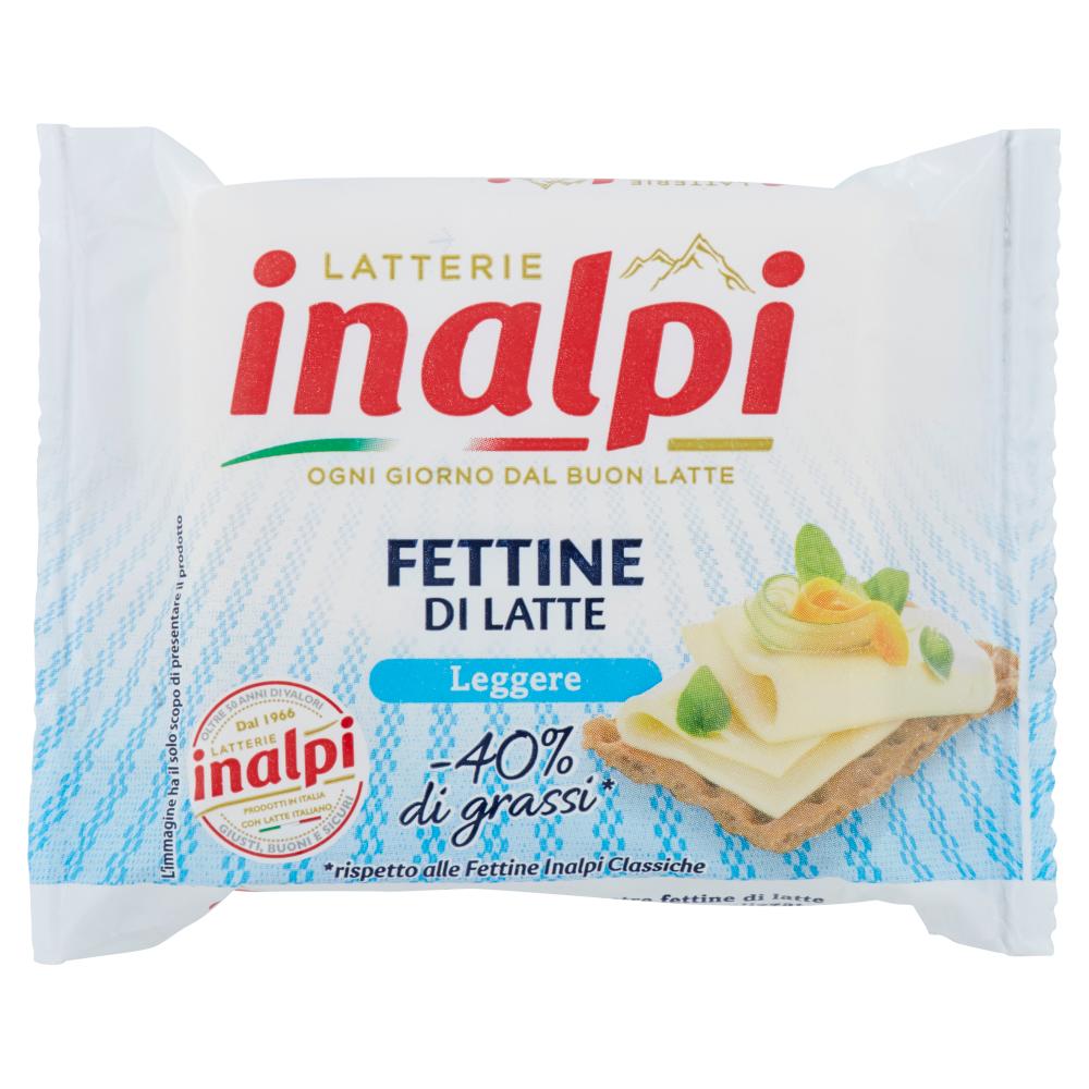 Latterie inalpi Fettine di Latte Leggere 175 g