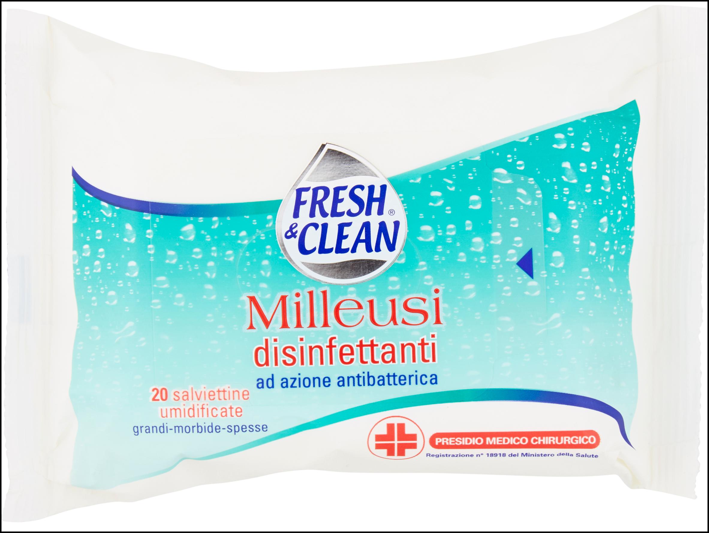 SALV.DISINFETT.X20 F.&CLEAN