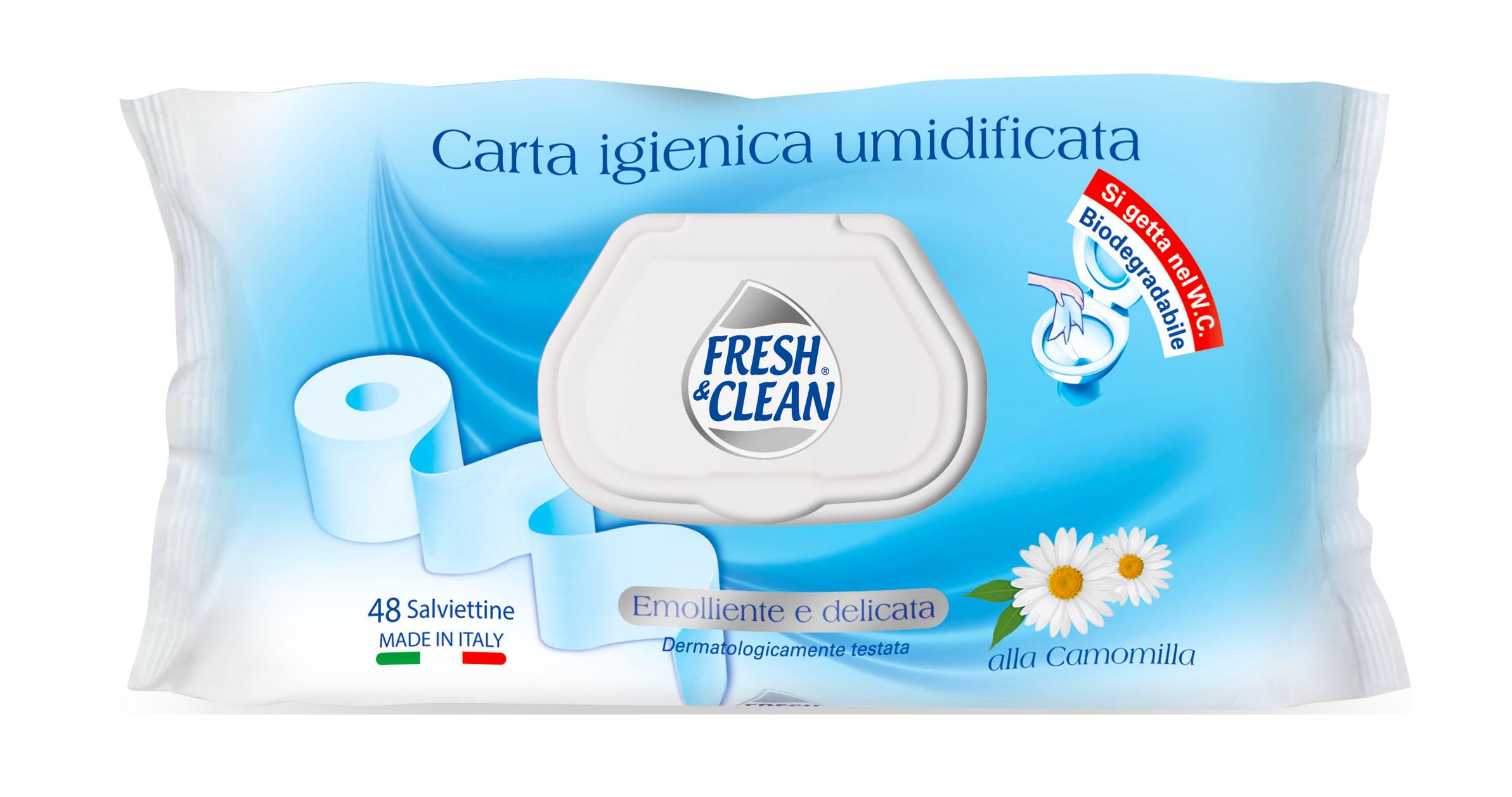 CARTA IG. FRESH&CLEAN X48 UMIDIFICATA