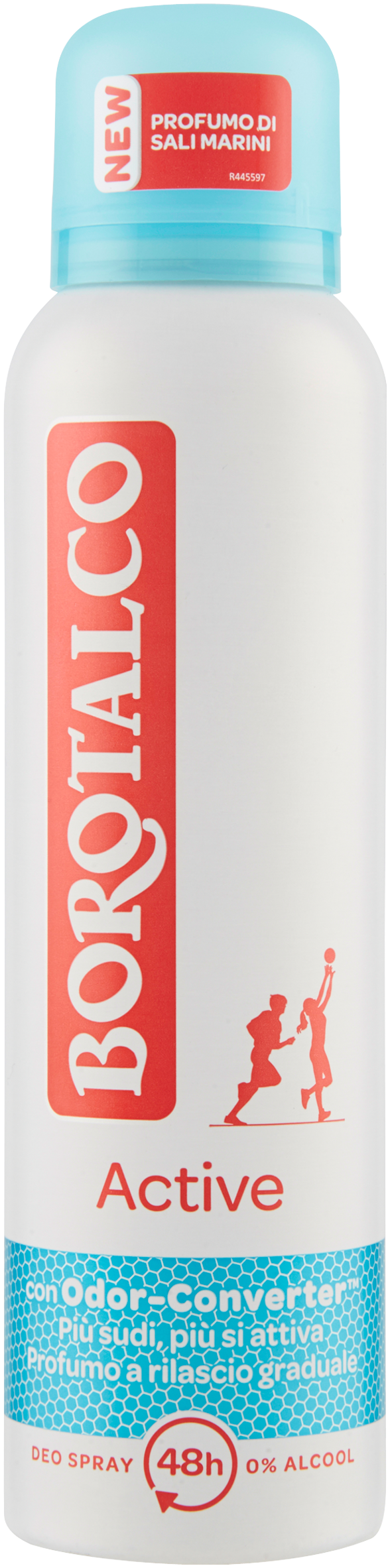 DEO SPRAY ACTIVE BOROTALCO 150 ML BLU