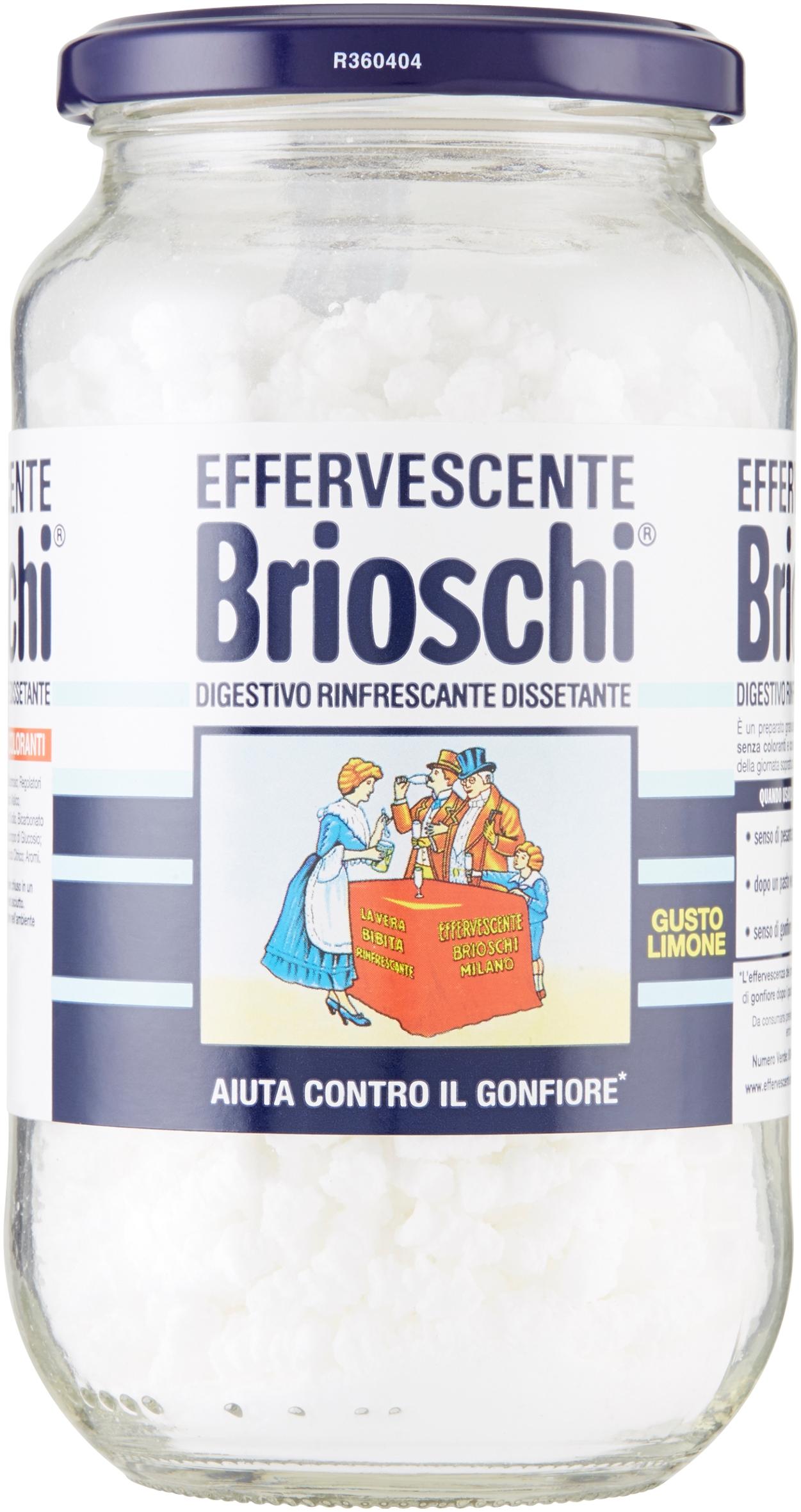 EFFERVESCENTE BRIOSCHI 250G VASO