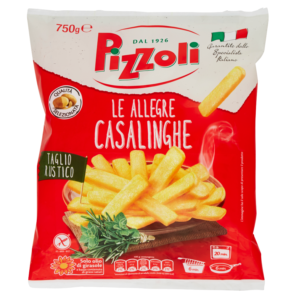 Pizzoli le Allegre Casalinghe 750 g