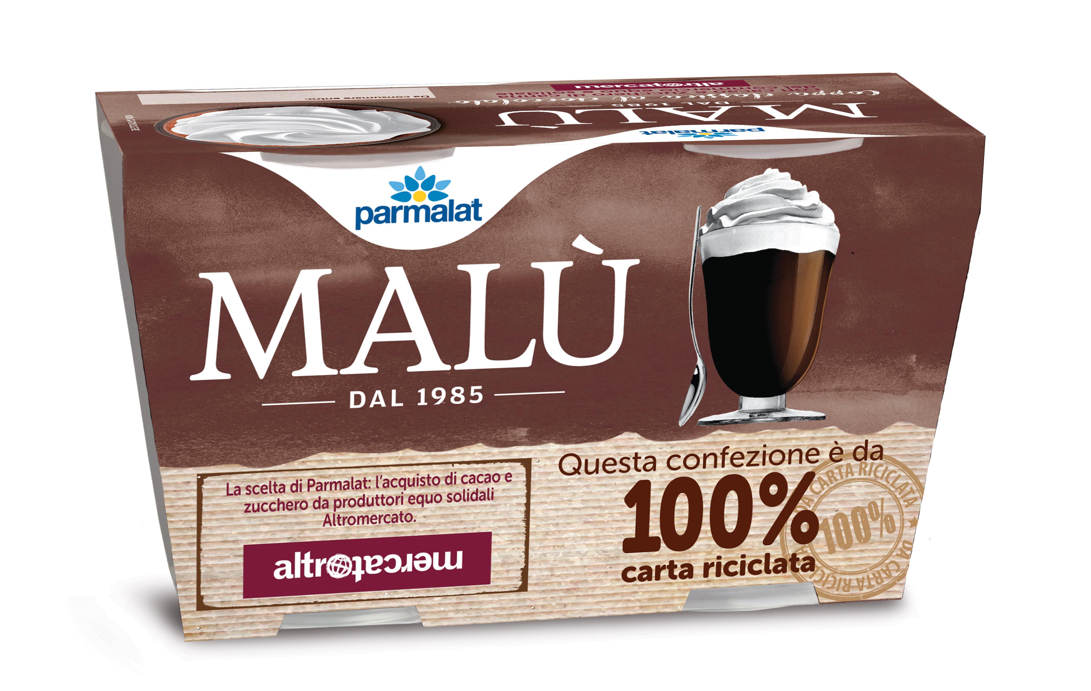DESSERT COPPA MALU PARMALAT 100GX2 CACAO
