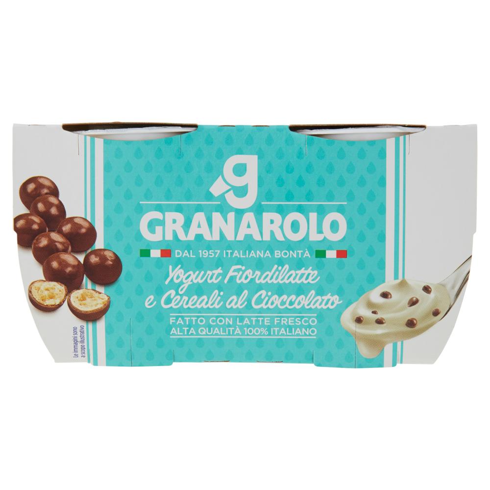 Granarolo Yogurt Fiordilatte e Cereali al Cioccolato 2 x 125 g