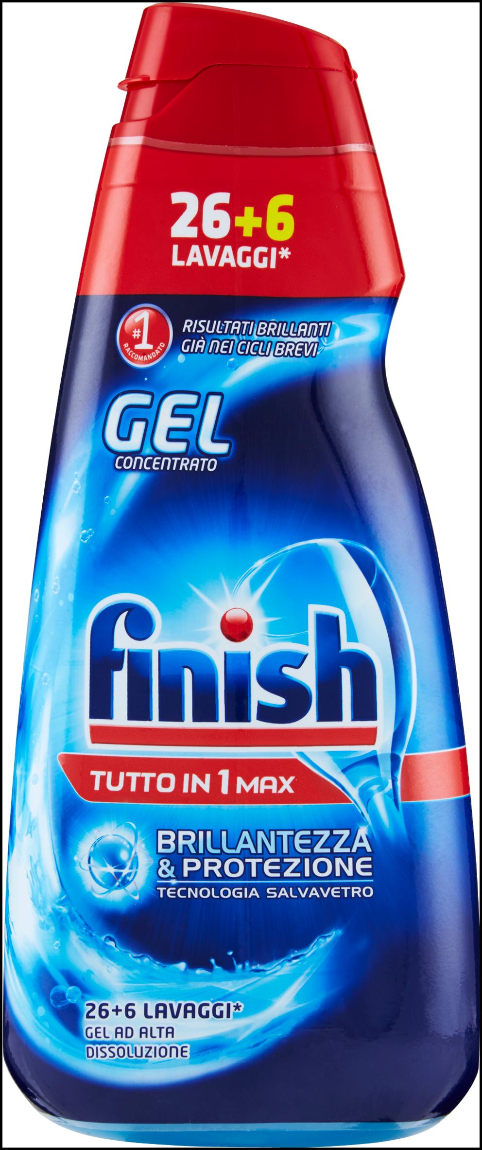 DET.FINISH POWER GEL 650 ML TUTTO IN 1