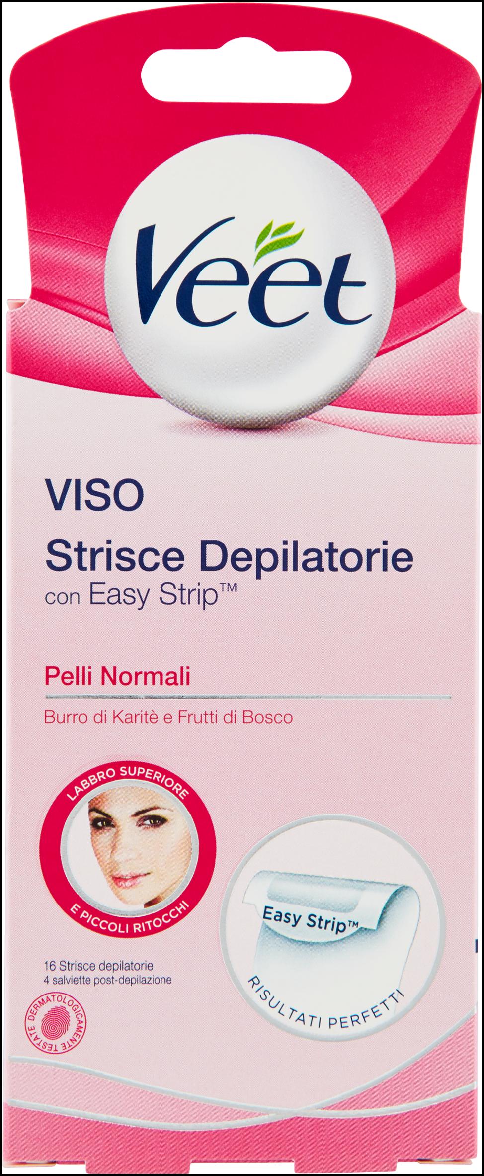VEET STRISCE VISO X 16