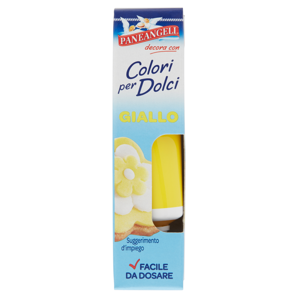 Paneangeli Colori per dolci giallo 10 g