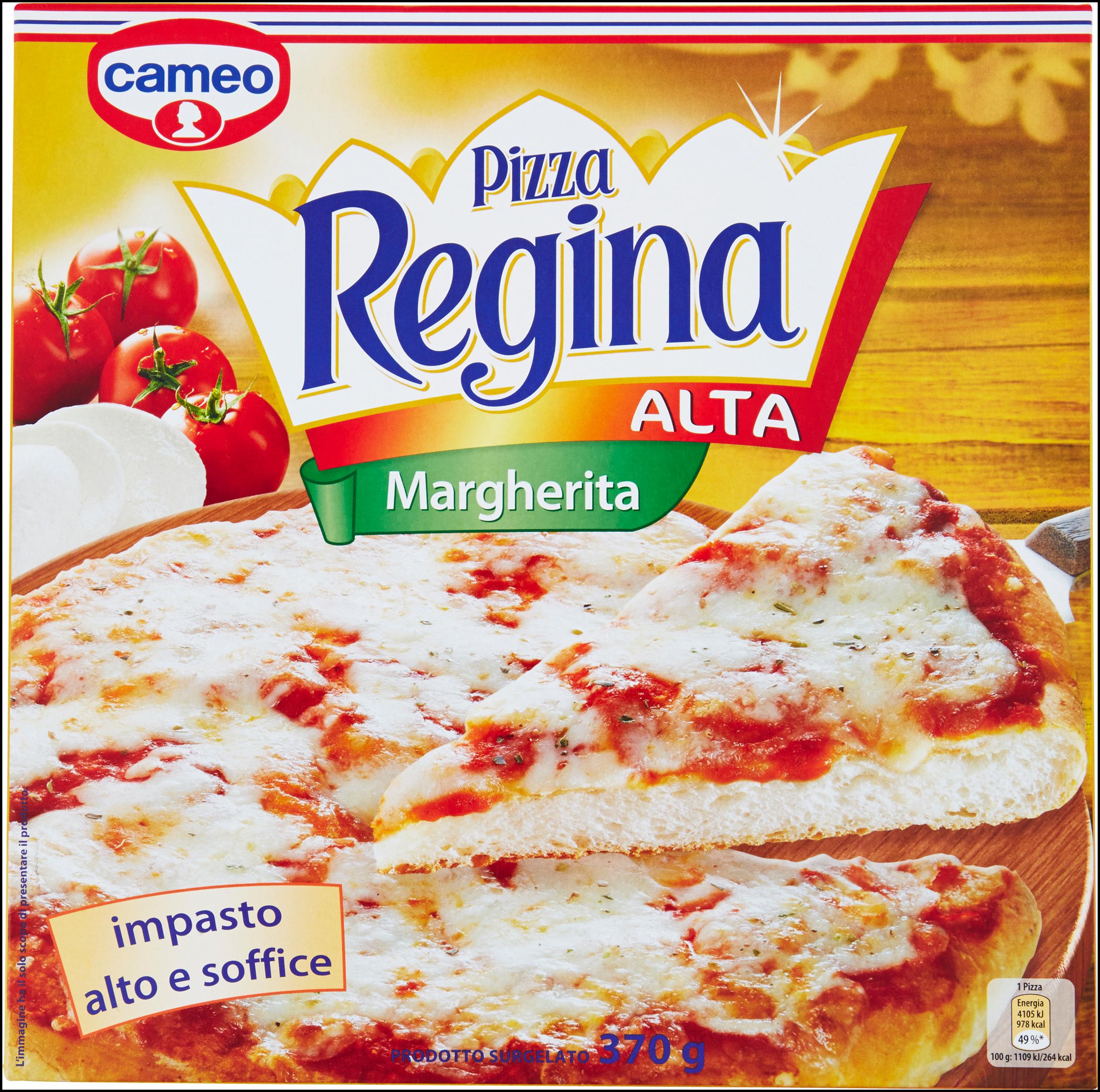 PIZZA REGINA ALTA MARGH.CAMEO 370G I