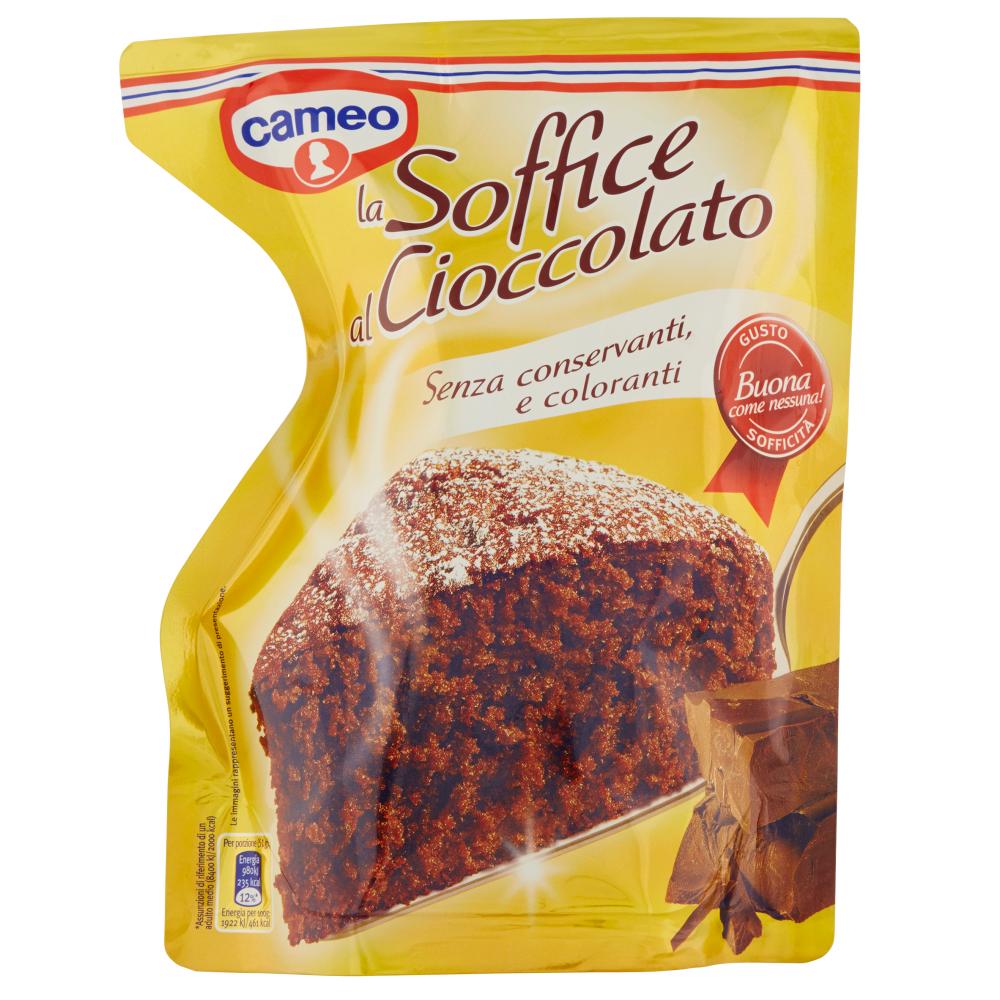 cameo la Soffice al Cioccolato 650 g