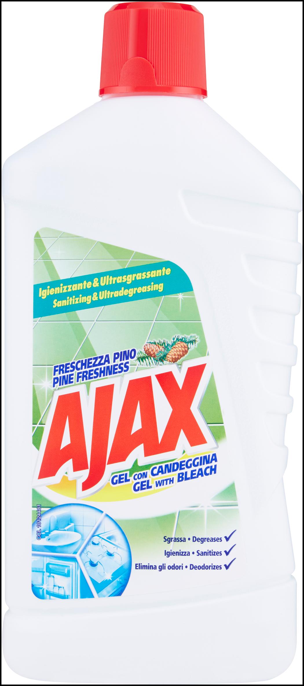 CREMA AIAX GEL CON CANDEGGINA  1 L.