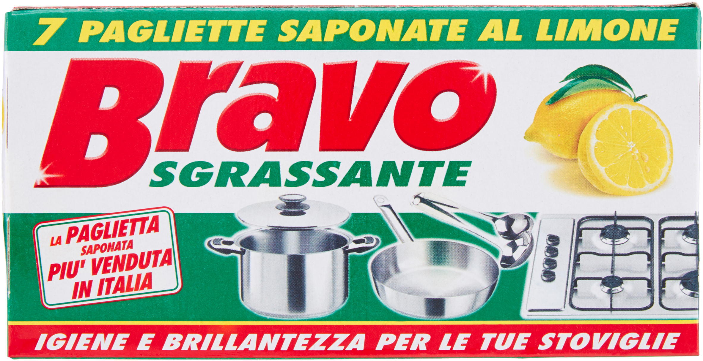 SGRASS. PAGLIETTE BRAVO 7PZ