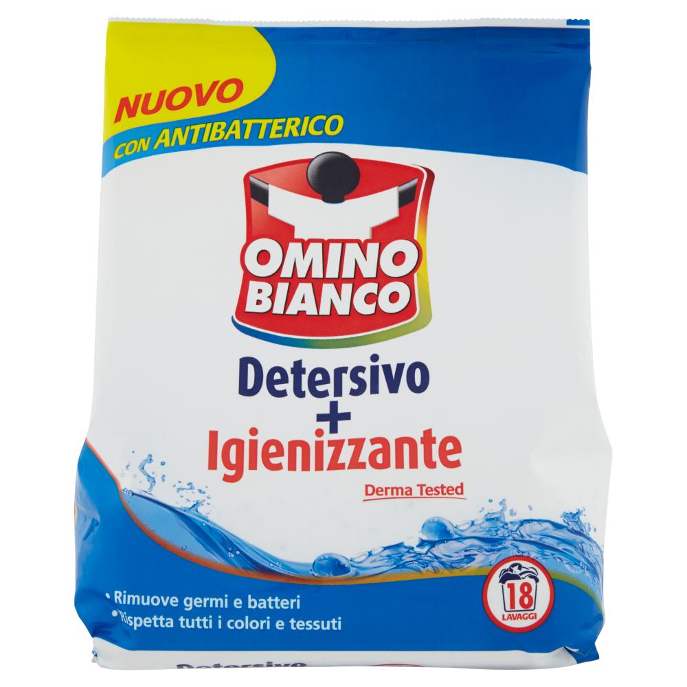 Omino Bianco Detersivo + Igienizzante 1116 g