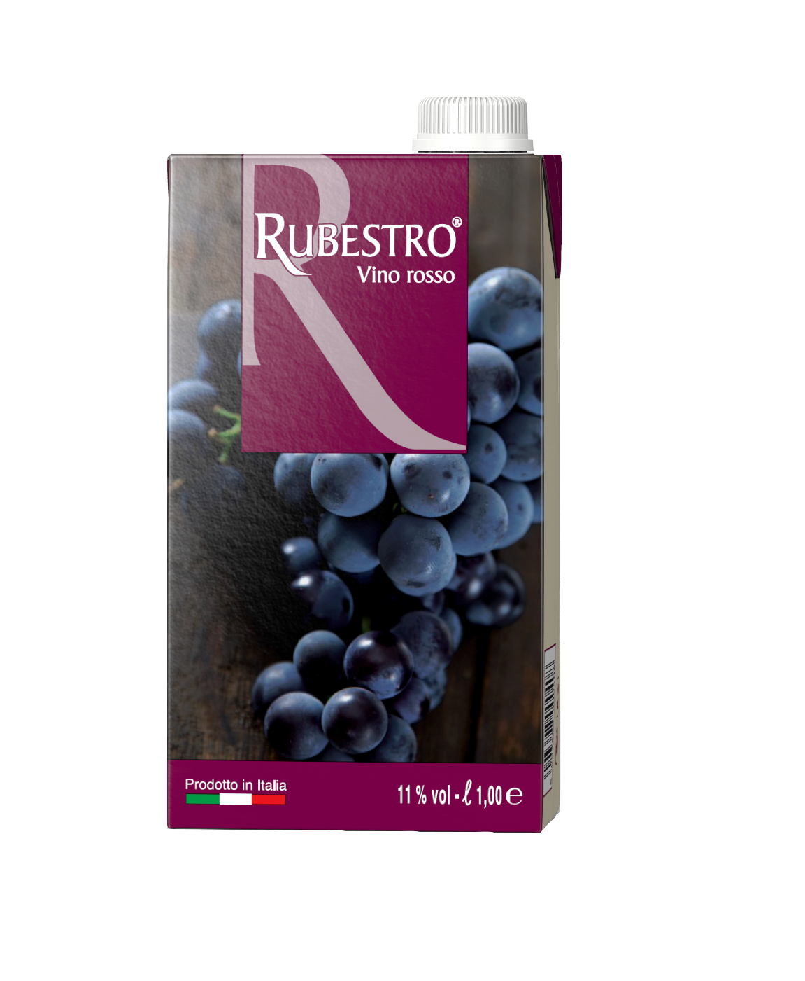 RUBESTRO VINO ROSSO BRIK LT,1