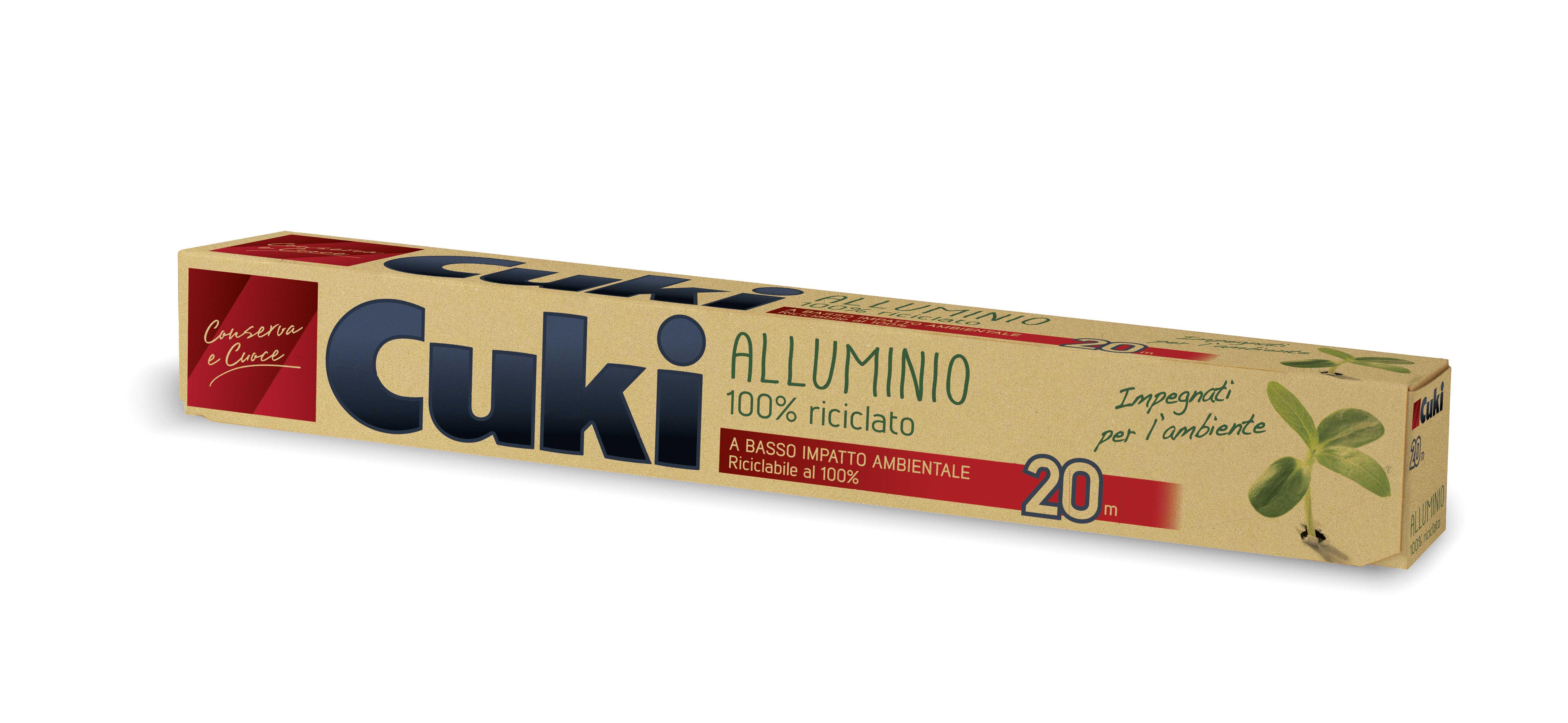 ALLUMINIO CUKI 20 M. 100% RICIC