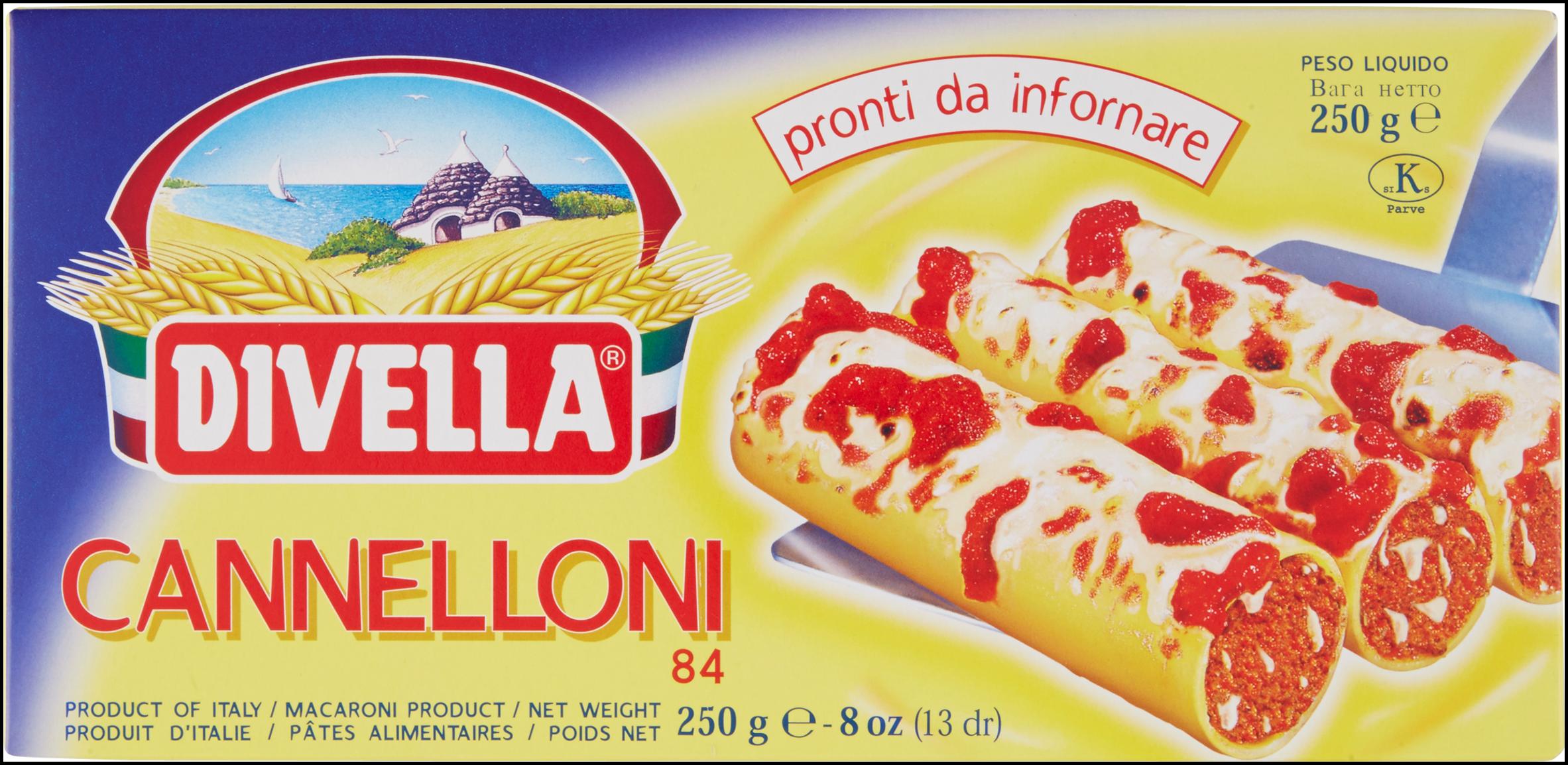 CANNELLONI DIVELLA 250G
