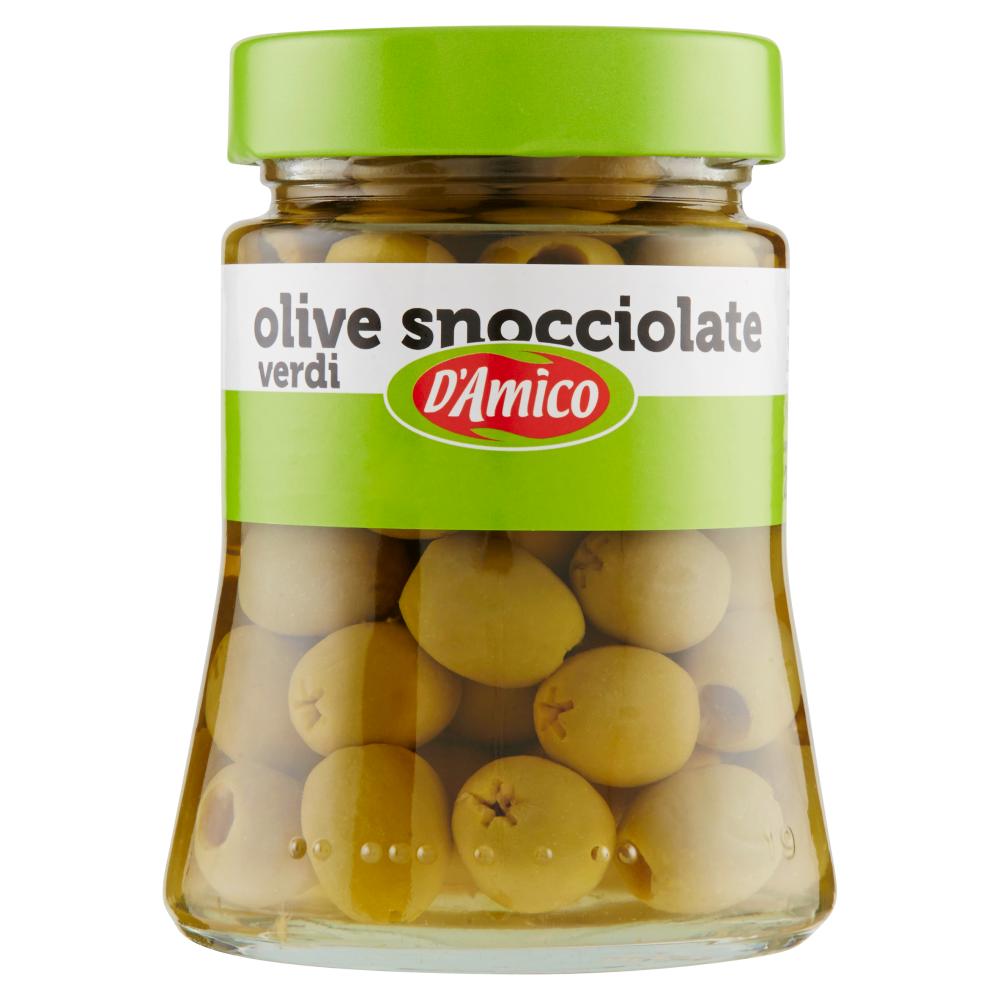 D'Amico olive snocciolate verdi 290 g