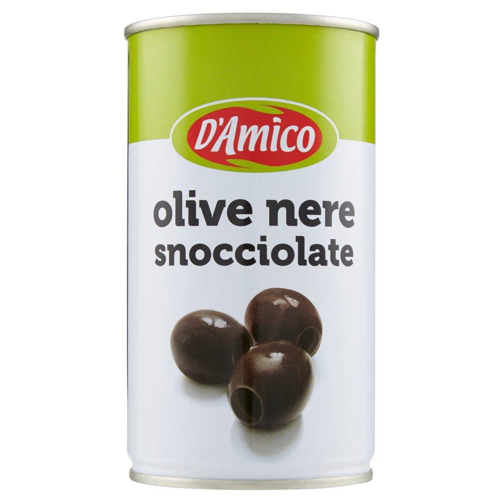 D'Amico olive nere snocciolate 350 g