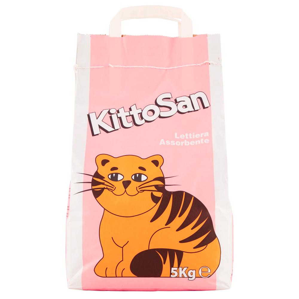 KittoSan Lettiera Assorbente 5 kg