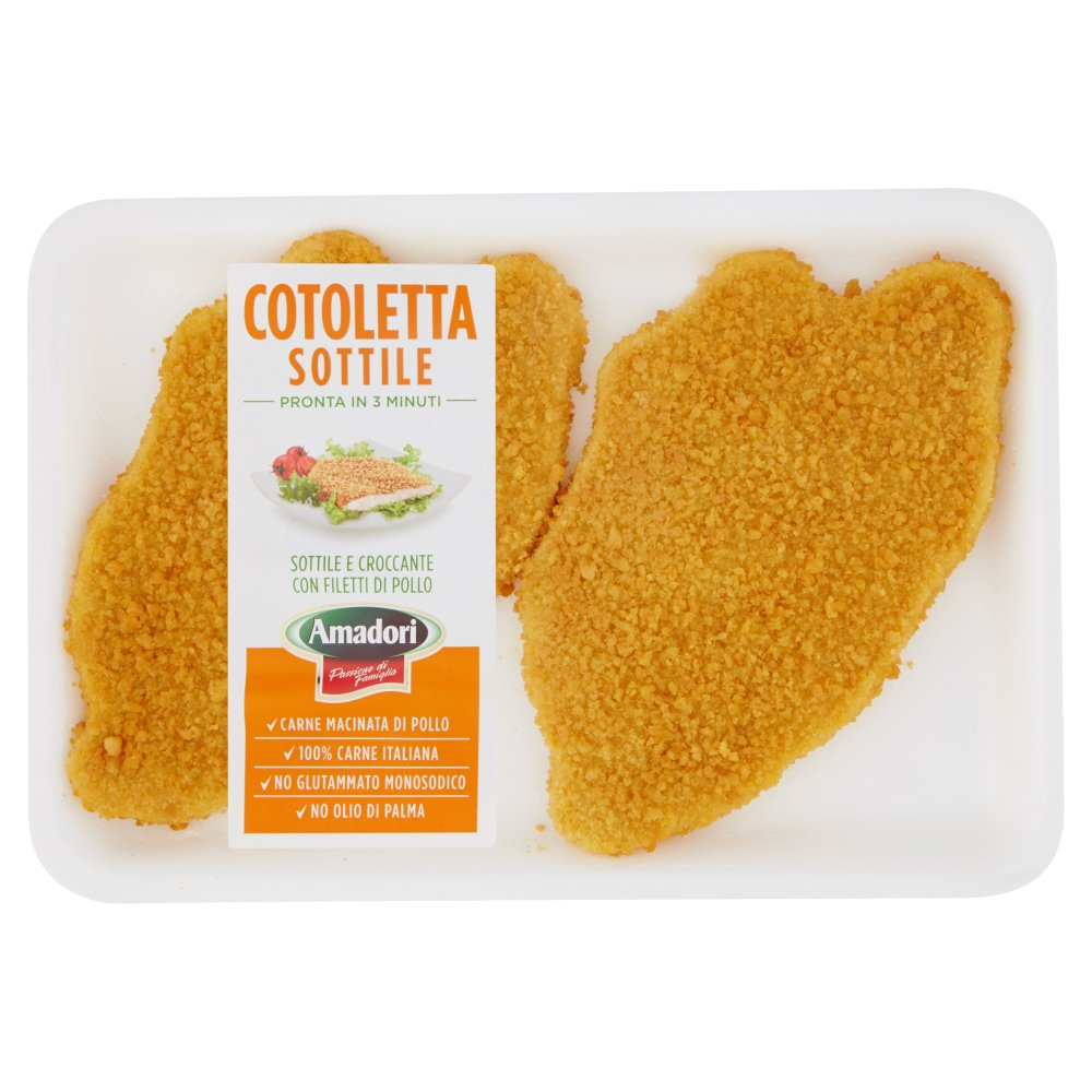 Amadori Cotoletta Sottile 0,300 kg