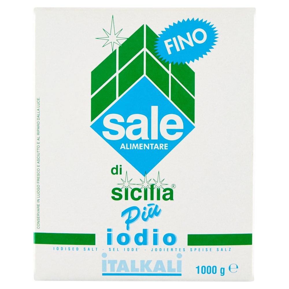 Sale di Sicilia Più iodio fino 1000 g