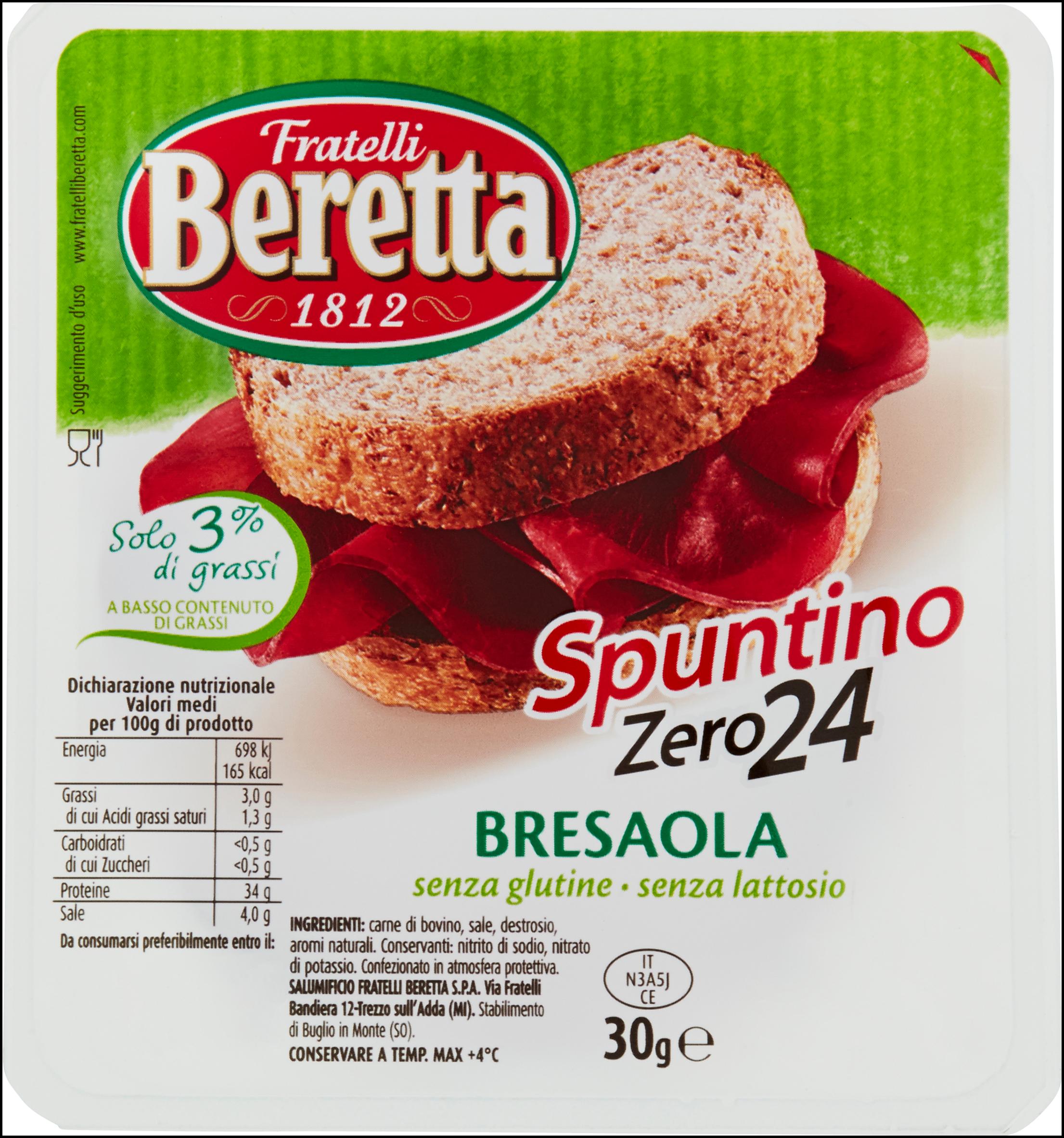 BRESAOLA SPUNTINO BERETTA 30G