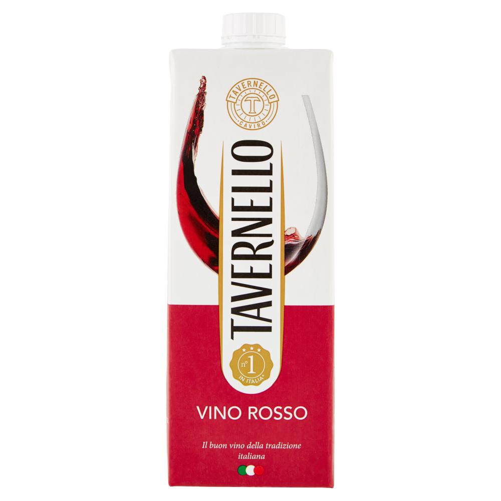 Tavernello Vino Rosso 1 l