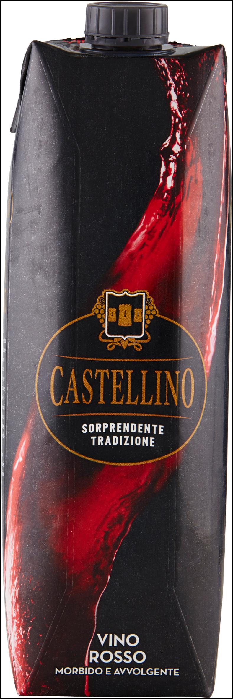 CASTELLINO VINO ROSSO BRIK LT 1