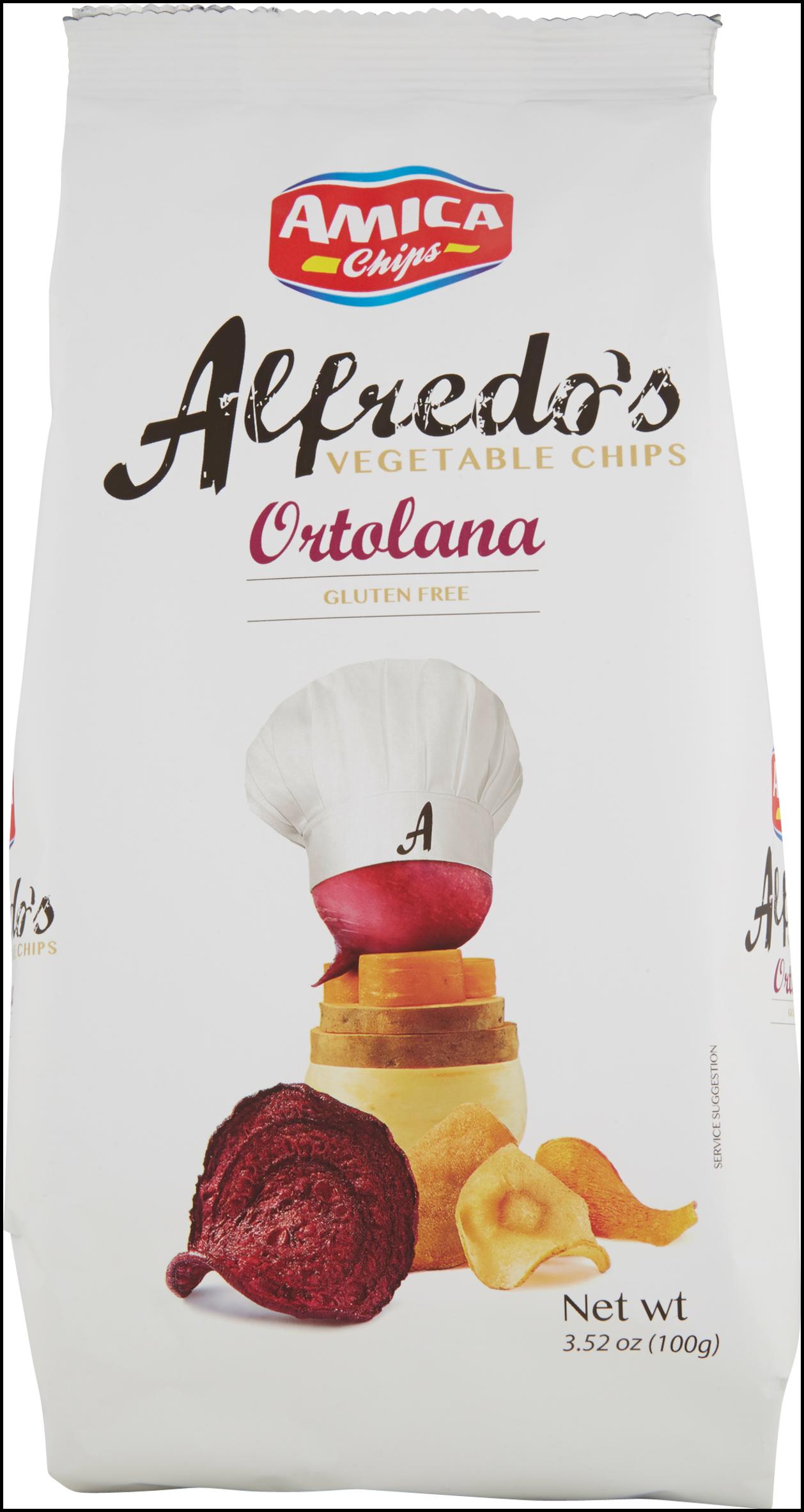 ALFREDO'S AMICA CHIPS 100G ORTOLANA