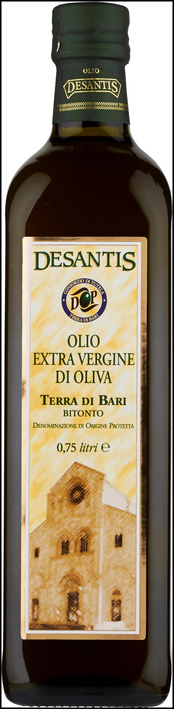 OLIO EXVERGINE DOP DESANTIS 750ML