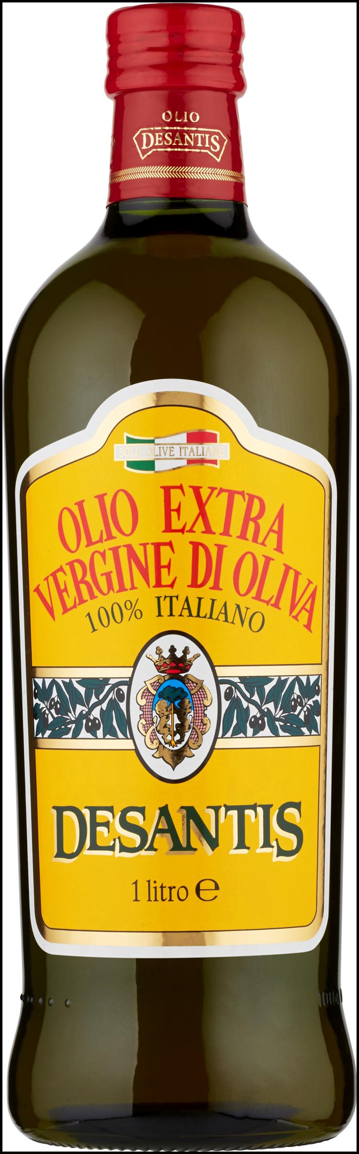 OLIO EXVERGINE DESANTIS 1L 100% ITALIANO