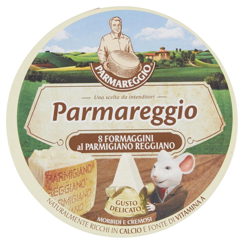 Parmareggio 8 Formaggini al Parmigiano Reggiano 140 g