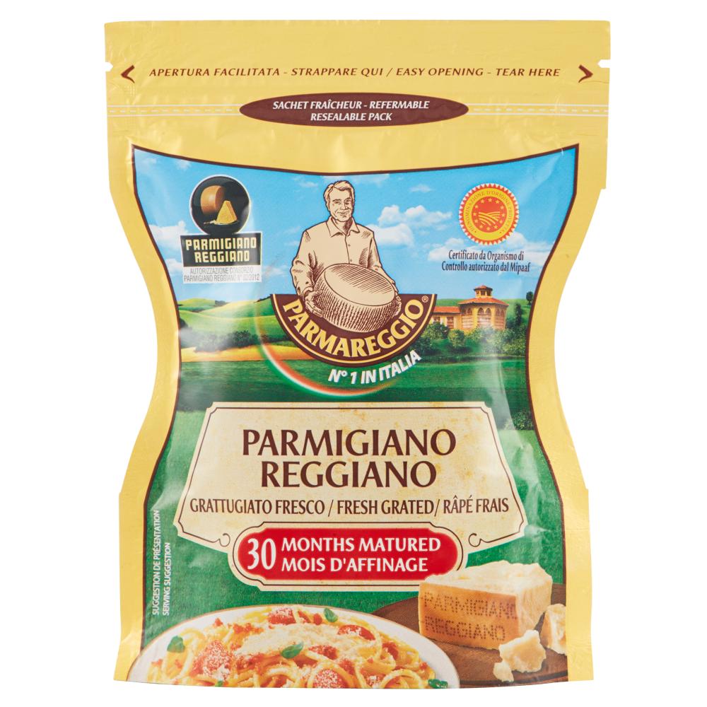 Parmareggio Parmigiano Reggiano Grattugiato Fresco 30 Months Matured DOP 60 g