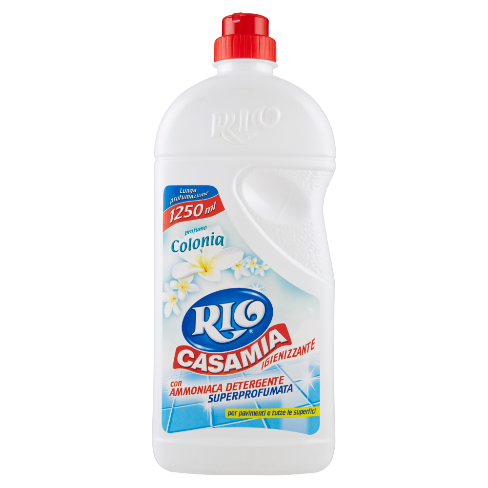 Rio Casamia Igienizzante con Ammoniaca Detergente profumo Colonia 1250 ml