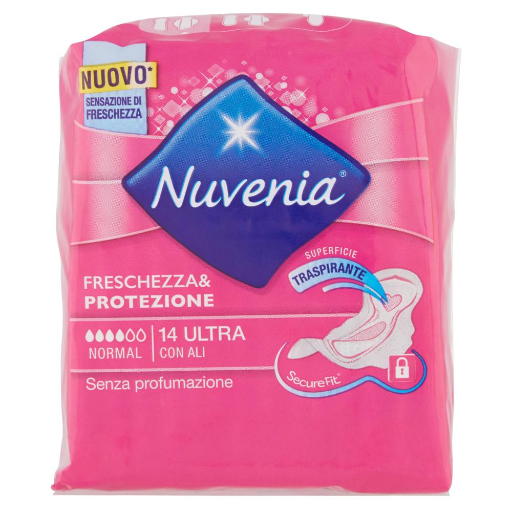 Nuvenia Freschezza & Protezione Normal Ultra con Ali 14 pz