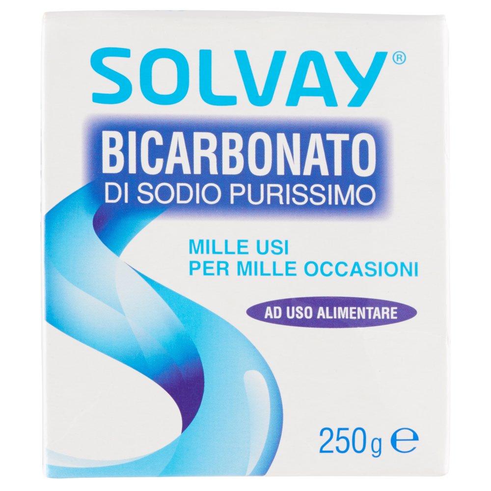 Solvay Bicarbonato di Sodio Purissimo 250 g