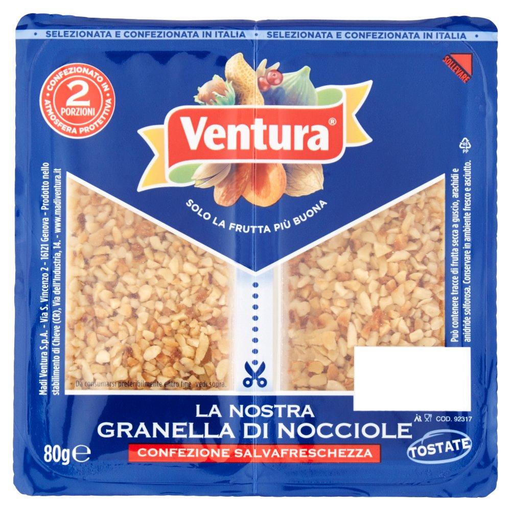 Ventura La nostra granella di nocciole 80 g