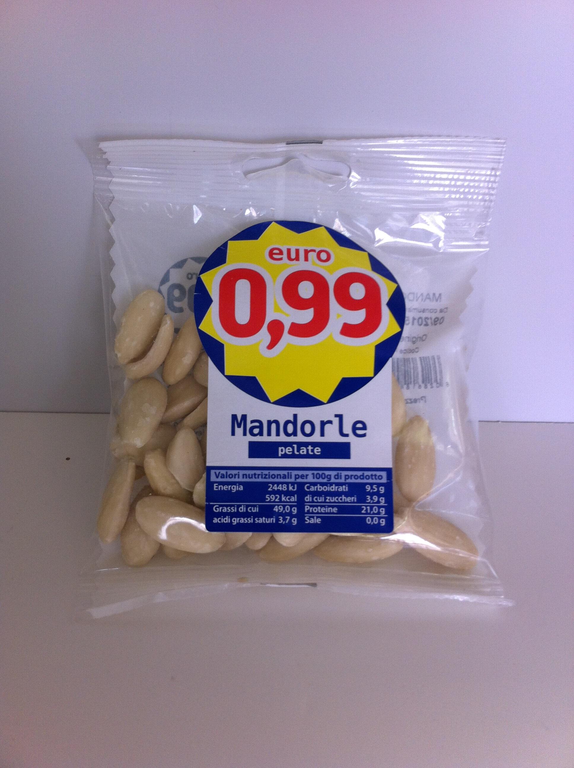 MANDORLE PELATE MADIVENTURA 50g